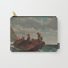 Winslow Homer - Breezing Up (A Fair Wind) Carry-All Pouch