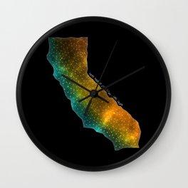 California StarStuff Wall Clock