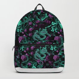 Floral and Snake Night Backpack