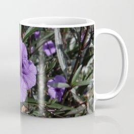 Purple Flower Bloom Coffee Mug