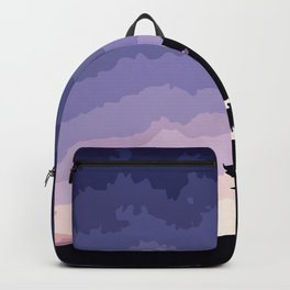 The Sun sets in the West Backpack