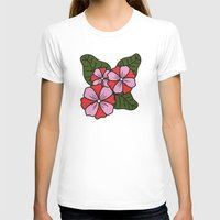 scandinavian T-shirts featuring Scandinavian Garden by She's That Wallflower