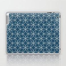 Cerulean Lotus Laptop & iPad Skin