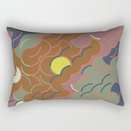 Abstract Geometric Artwork 87 Rectangular Pillow