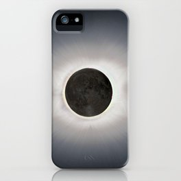 Total Eclipse by  OLena Art iPhone Case