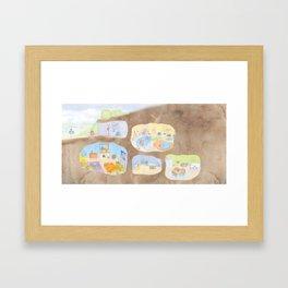 Bunny Burrow Framed Art Print
