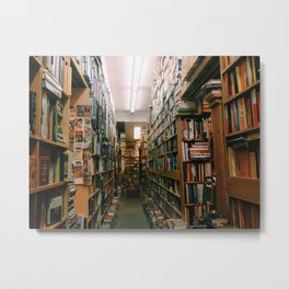 Bookstore Metal Print