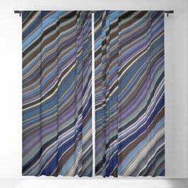 Wild Wavy Lines 40 Blackout Curtain