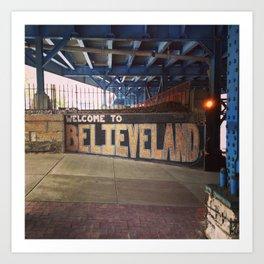 Cleveland Believeland Art Print