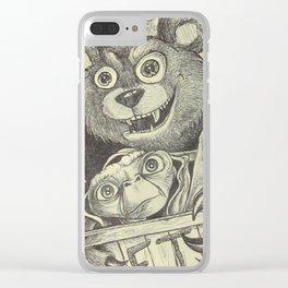 E.T Abduction Clear iPhone Case