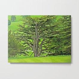 Old English Tree Metal Print