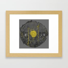 Sound on the underground Framed Art Print