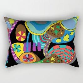 Childish Landscape Rectangular Pillow