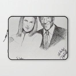 Diana Krall and Tony Bennett Laptop Sleeve