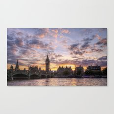 The City of Westminster Canvas Print