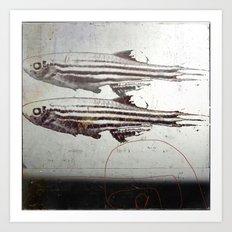 « des poissons » Art Print
