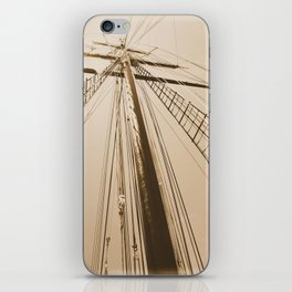 Top of the Mast iPhone Skin