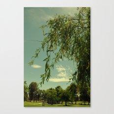 Vintage Trees Canvas Print