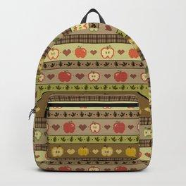 Apple Orchard Fair Isle Backpack