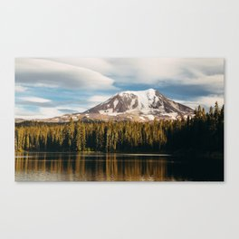 Mount Adams from Takhlakh Lake Canvas Print