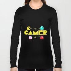 Classic Gamer: Pacman Long Sleeve T-shirt