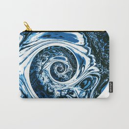 Yoga blue sacral for Kate Carry-All Pouch