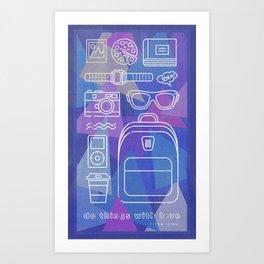 Things to love Art Print