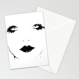 Woman (3) Stationery Cards
