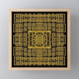 Beautiful stars would be in gold frames Framed Mini Art Print