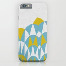 Modern Day Arches Blue and Yellow iPhone 6s Slim Case