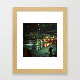 La Villa Framed Art Print