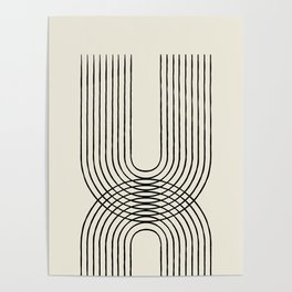 Arch duo 1 Mid century modern Poster