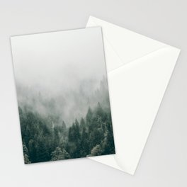 Foggy Forest 3 Stationery Cards