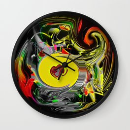 Ornamental pregnancy Wall Clock