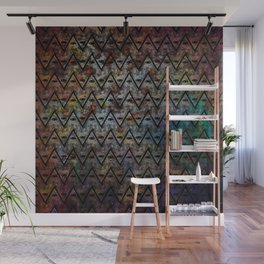 All Seeing Pattern Wall Mural