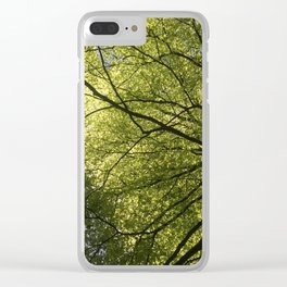 White Cross Bay 2 Clear iPhone Case