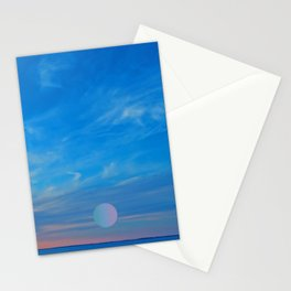 meep sky Stationery Cards
