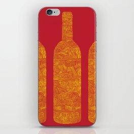 Wine Bottles iPhone Skin