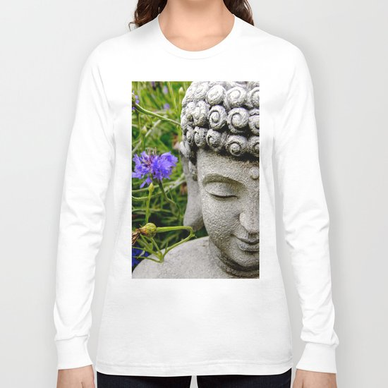 Peace Through Flowers Long Sleeve T-shirt