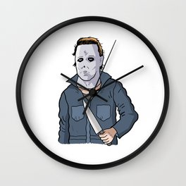 Michael Myers (Halloween 1978) Wall Clock