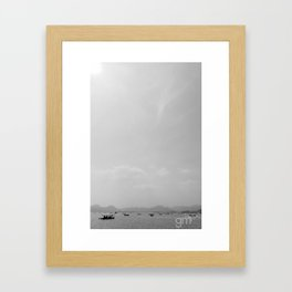 West Lake Framed Art Print