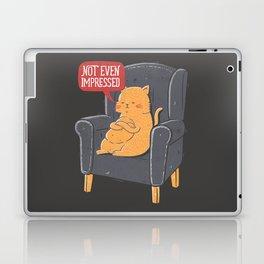 Not Even Impressed Laptop & iPad Skin