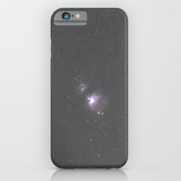 Orion Running Man flame and Horsehead Nebula's iPhone Case