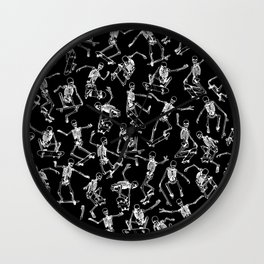 Grim Ripper BLACK Wall Clock
