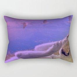 Siberian Husky Digit. Edition Rectangular Pillow