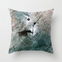Rings Throw Pillow