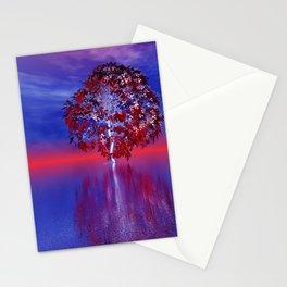foreign horizon somewhere -2- Stationery Cards