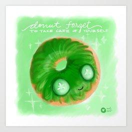 Cool As A Cucumber Art Print