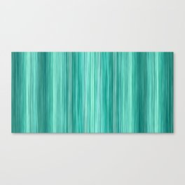 Ambient 5 in Teal Canvas Print
