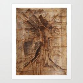 Shroud of the True Oak Art Print